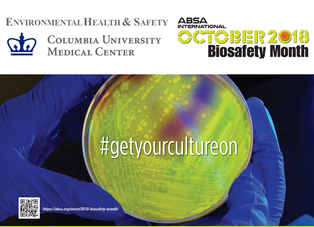 Biosafety Month Announcement