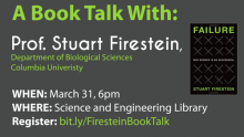 "Image of ""A Book Talk with Prof. Stuart Firestein"""