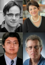 photo of Drs. Abate-Shen, Costantini, Shen, and Wichterle